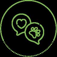 Höper Tierversicherungen Icon Herz Pfote